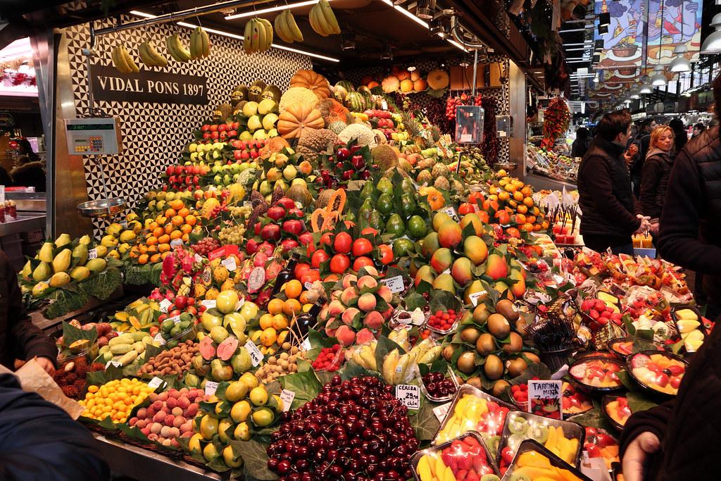 سوق لا بوكويريا