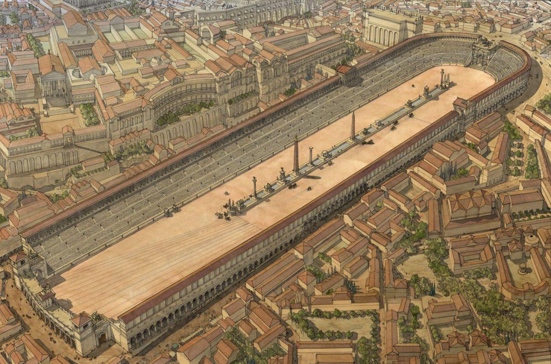 أفضل الأماكن السياحية في روما : سيرك ماكسيموس