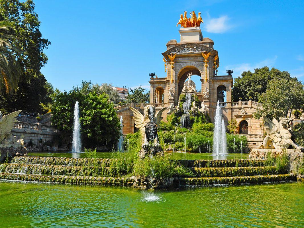 سيوتاديلا بارك من أجمل الأماكن السياحية في برشلونة