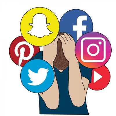 مشاكل مواقع التواصل الاجتماعي