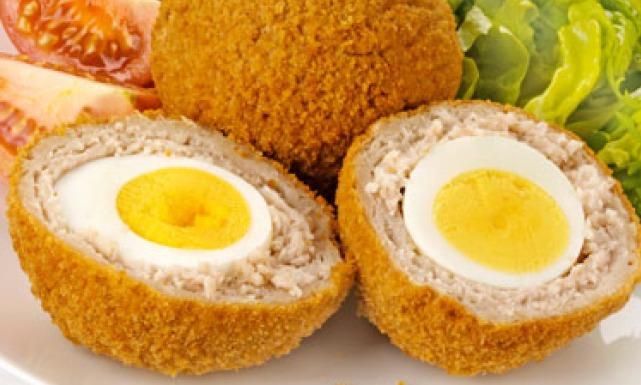 البيض الإسكتلندي