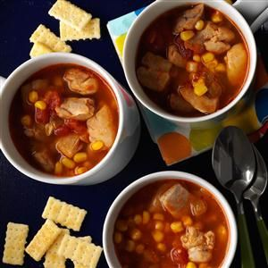 الحساء المكسيكي السريع التحضير والشهي