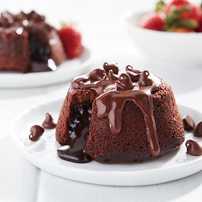 طريقة عمل المولتن كيك بالشوكولاتة