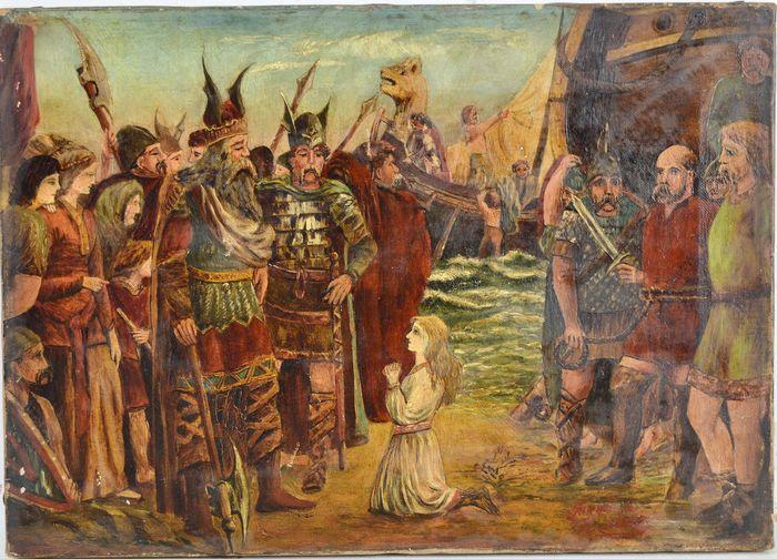 عصر الفايكنج و الهيمنة الدنماركية
