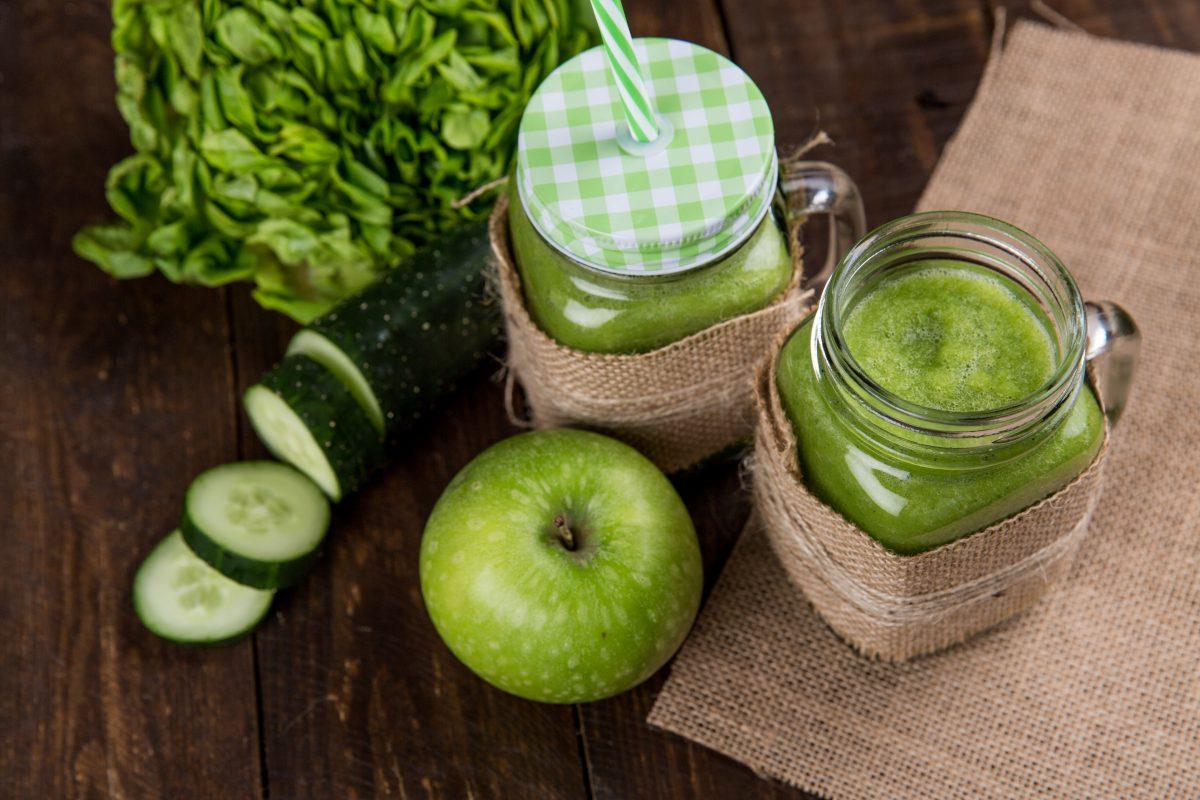 عصير الجزر و التفاح