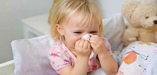 عندما يصاب طفلك بمرض الانفلونزا