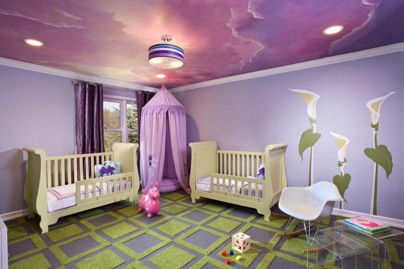 9 تصميمات مختلفة لغرف الأطفال