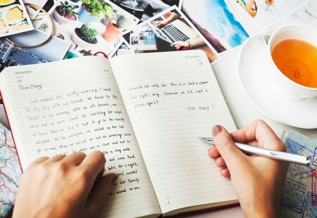 فوائد كتابة المذكرات : علاج نفسي