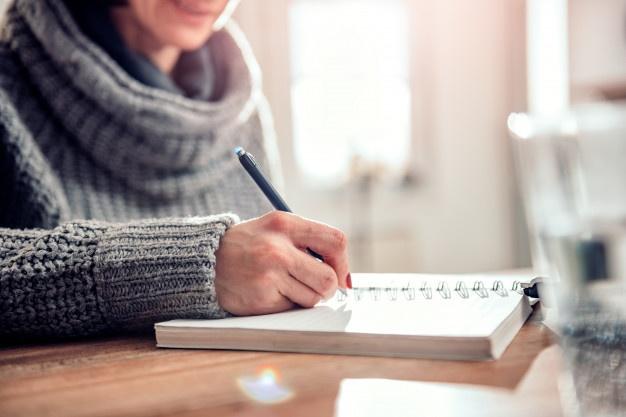 فوائد كتابة المذكرات