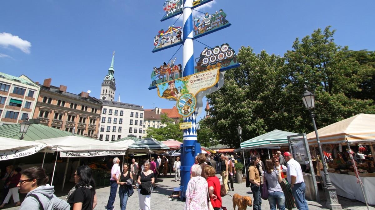 أفضل الأماكن السياحية في ميونخ : فيكتوالينماركت