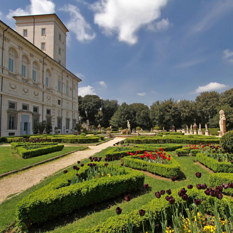 فضل الأماكن السياحية في روما : فيلا بورغيزي