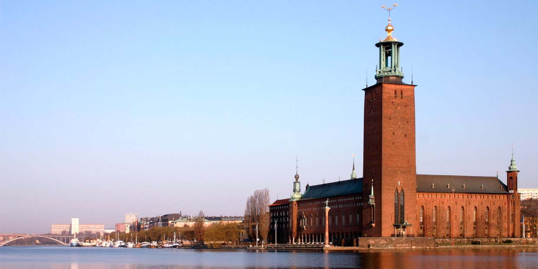 المعالم السياحية في ستوكهولم : قاعة المدينة (سيتي هول)