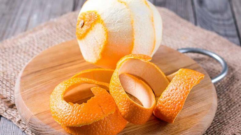 إعادة استخدام قشور الفواكه و الخضروات : قشر البرتقال