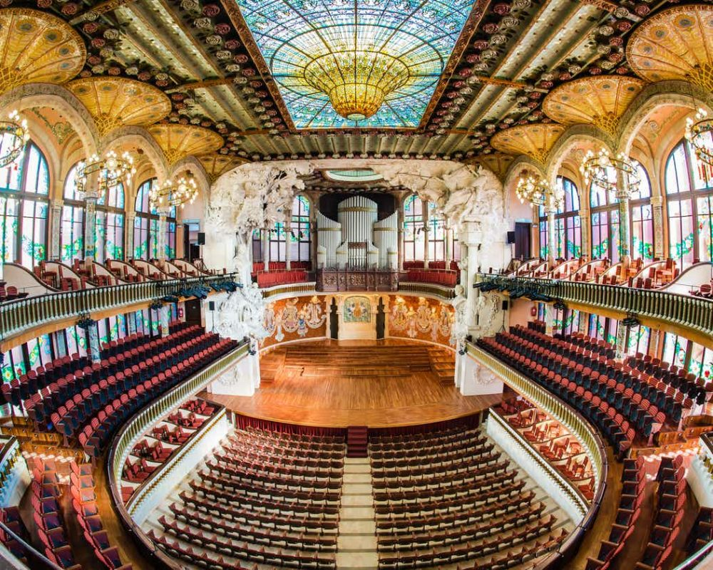 قصر بالاو دي كاتالانا للموسيقى