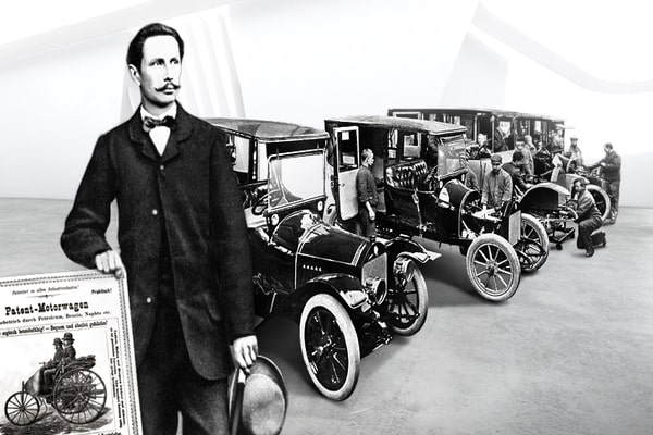 """علماء غيروا العالم :  كارل بنز """"مخترع السيارة"""""""