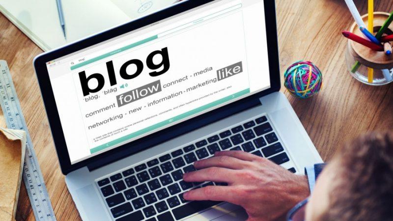 إنشاء مدونة