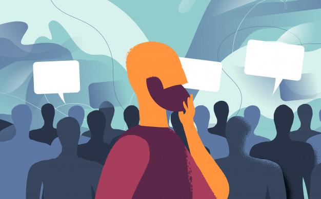 كيفية التغلب على آراء الآخرين