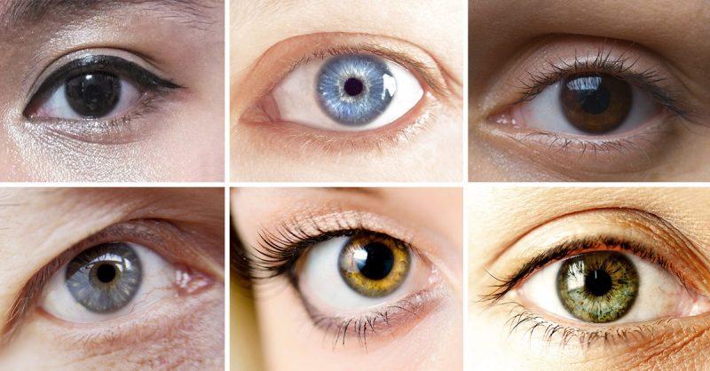 لون العيون