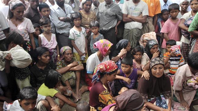 ماساة شعب بورما