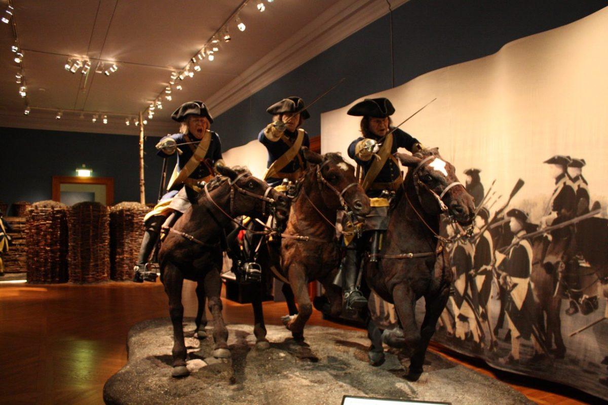 المعالم السياحية في ستوكهولم : متحف الجيش ستوكهولم