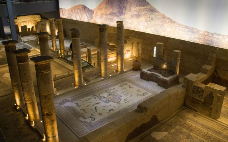 متحف غازي عنتاب زيوغما للفسيفساء