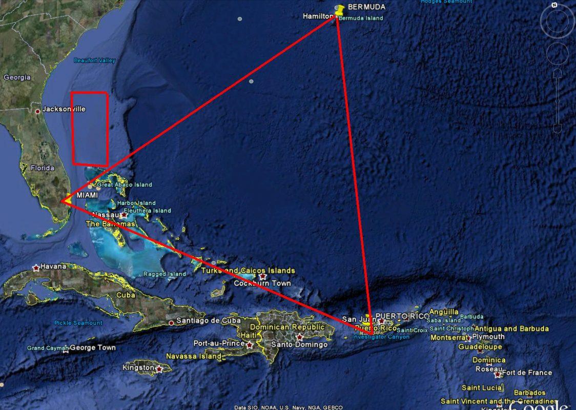 مثلث برمودا - المحيط الأطلسي
