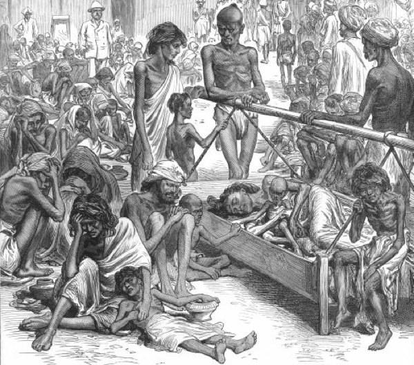 أسوأ المجاعات فى تاريخ البشرية مجاعة البنغال عام ١٧٧٠