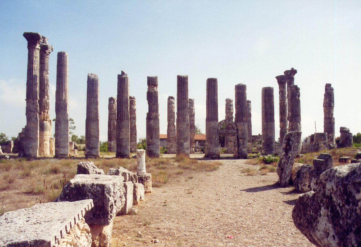 السياحة في مرسين : مدينة ديوكيساريا أولبا القديمة