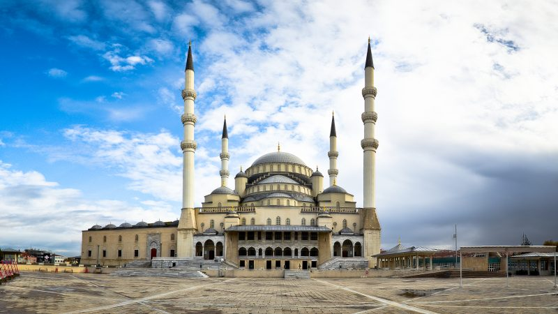 مسجد أنقرة كوكاتيب من أفضل المعالم السياحية في أنقرة