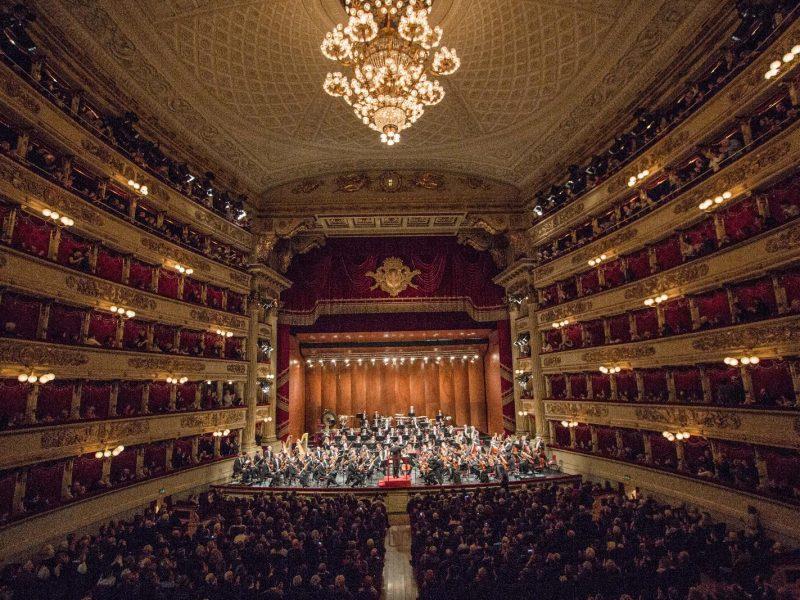 أفضل الأماكن السياحية في ميلان : مسرح ألا سكالا