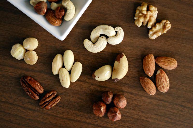فوائد المكسرات لمرض السكري