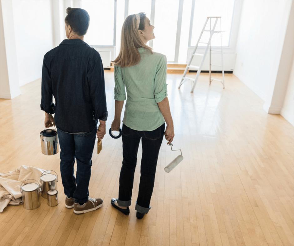 طلاء منزلكم الجديد