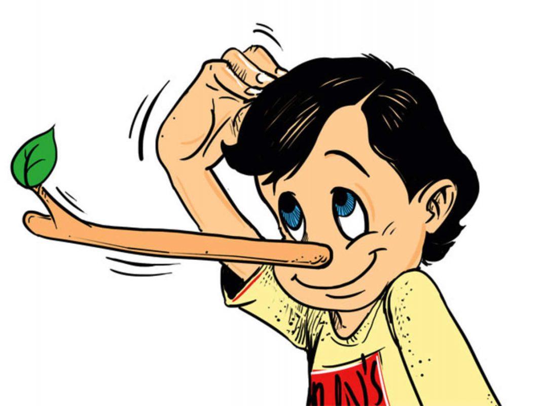 حقائق مثيرة عن الكذب :  من يكذب كثيرًا يزداد حجم أنفه