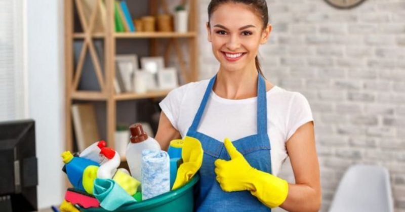 اساسيات تنظيف المنزل : النظام