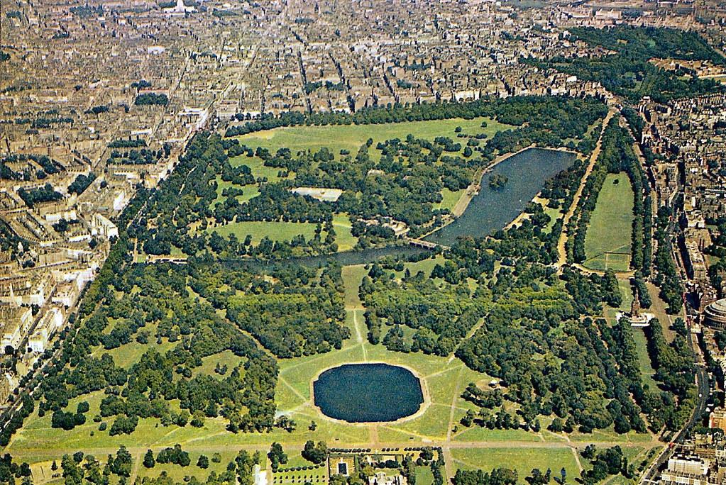هايد بارك من أفضل الأماكن السياحية في لندن أنجلترا