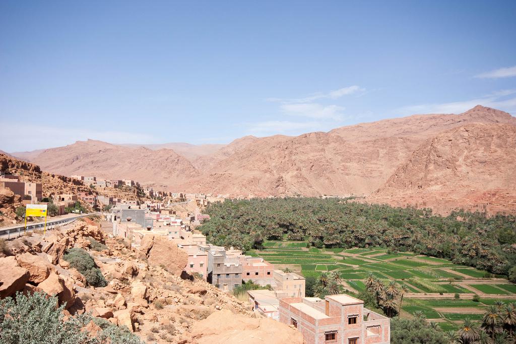 وجهات سياحية في أفريقيا : وادي درعة في المغرب
