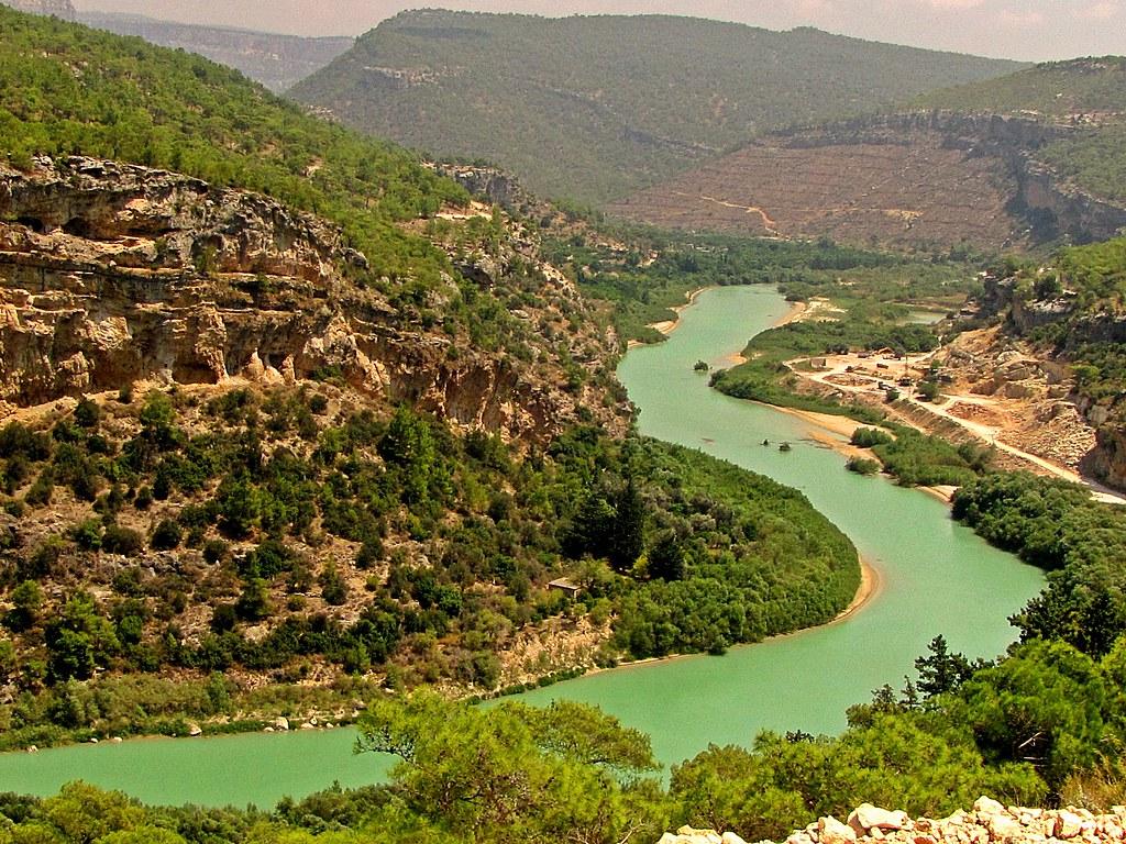 وادي نهر جوكسو من معالم السياحة في مرسين