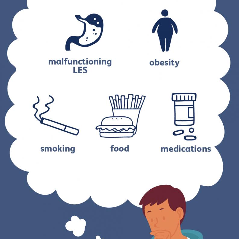 ماهو الغذاء المسموح به عند الإصابة بارتجاع المريء