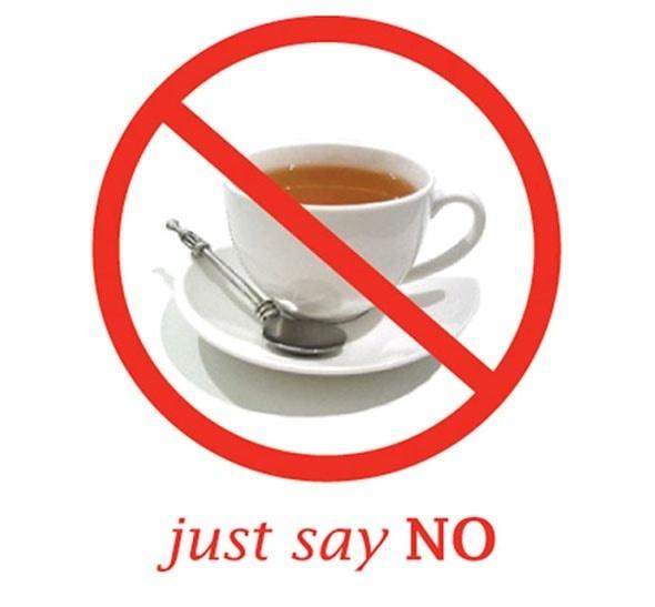 عدم شرب الشاي بعد الاكل