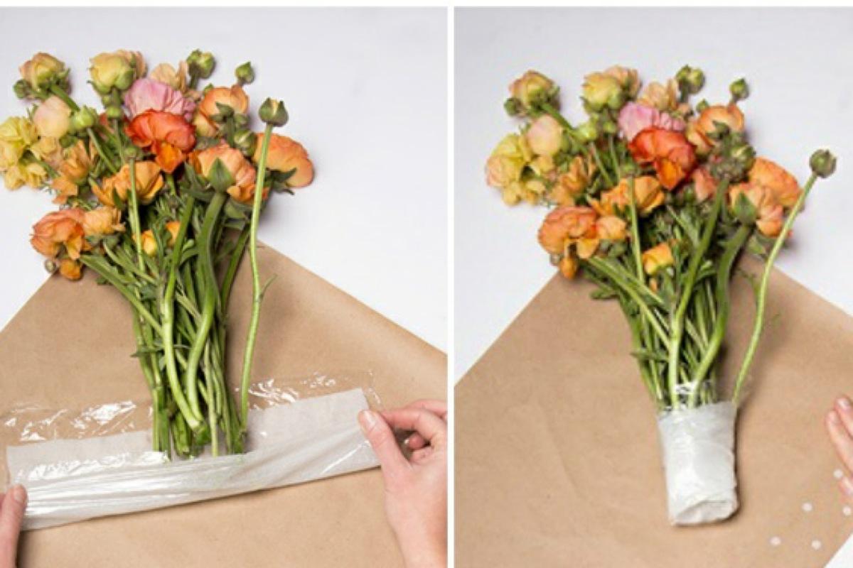 الحفاظ على بوكيه الزهور لأطول مدة