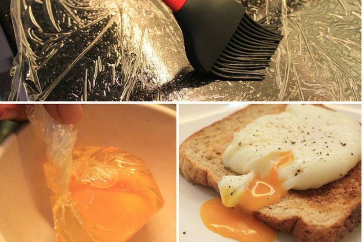 سلق البيض بطريقة مبتكرة بدون القشر