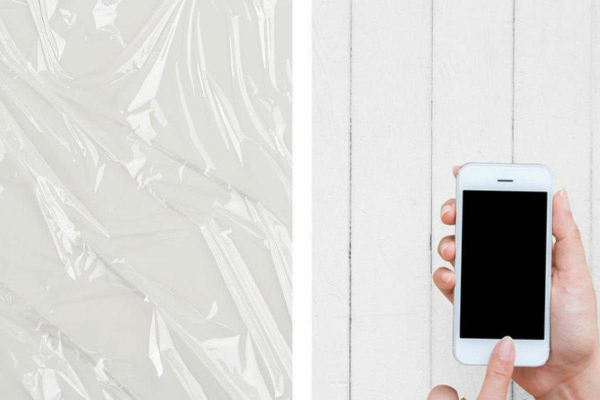 يساعد غلاف الطعام البلاستيكي في حماية هاتفك من الخدوش