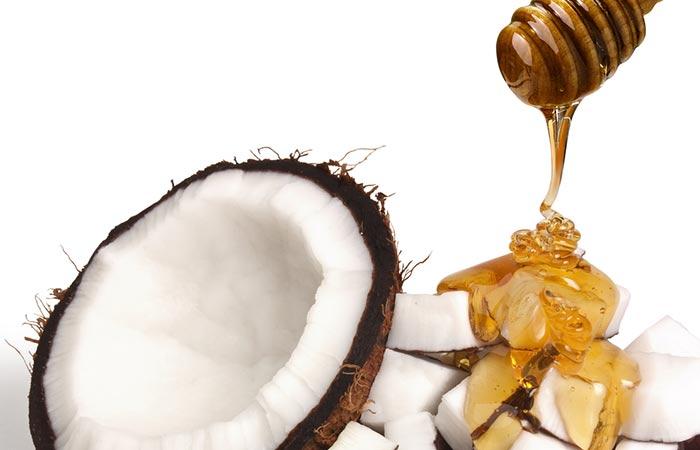 ماسك زيت جوز الهند والعسل ماسك طبيعي للوجه