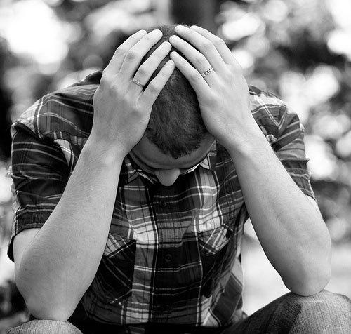 الاكتئاب عند الرجال