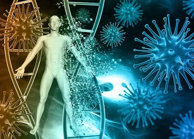 الفيروسات من أشهر مسببات الأمراض