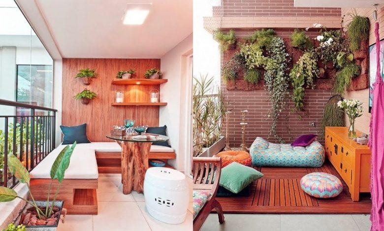 13 فكرة لتزيين شرفة المنزل