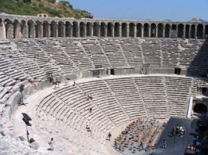 مسرح اسبندوس مناطق الجذب السياحى فى تركيا