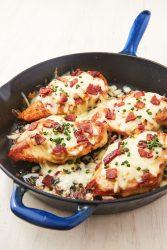 وجبة الدجاج بالجبن و البيف بيكون