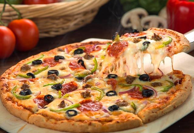 طريقة البيتزا