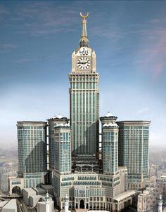 ساعة مكة في المملكة العربية السعودية